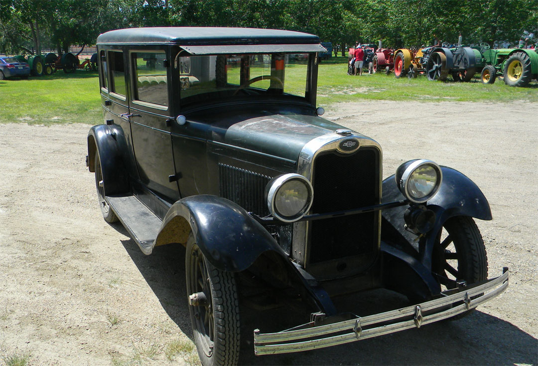 1927 chevrolet sedan original special car store