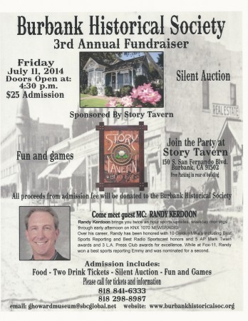 The Burbank Historical Society's 3rd Annual