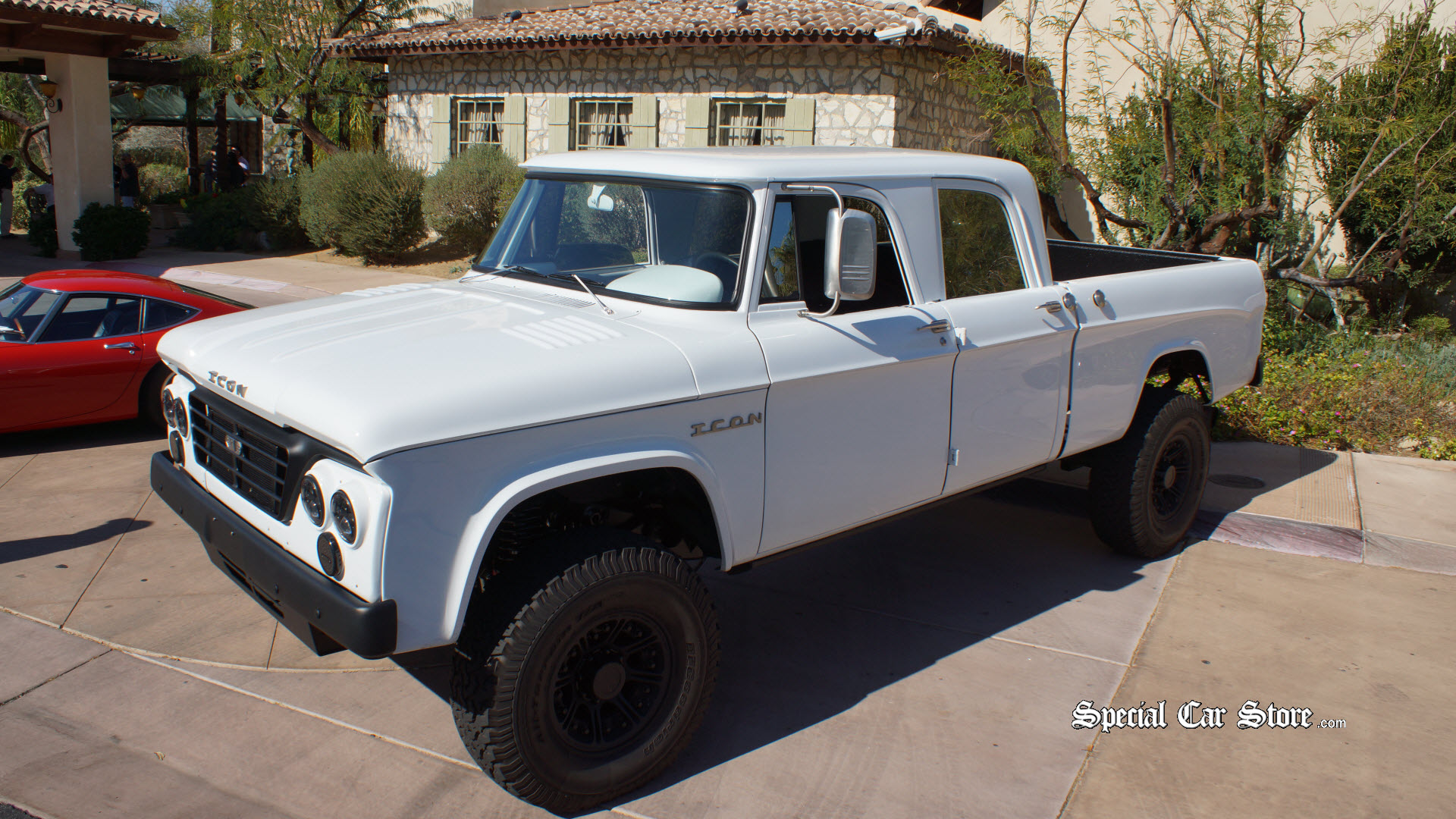 ICON\'s Dodge D200 - Old-School Truck | Special Car Store