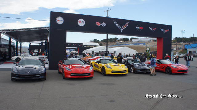 Chevrolet Motor Division Heritage Display and special presentations at Rolex Monterey Motorsports Reunion 2013