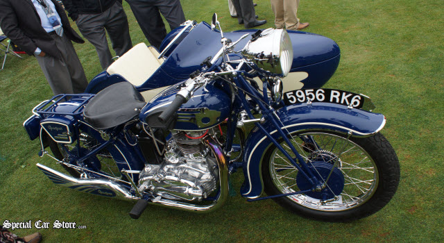 Class X French Motorcycles 1st Place - 1937 Peugeot 515 SP with Sidecar