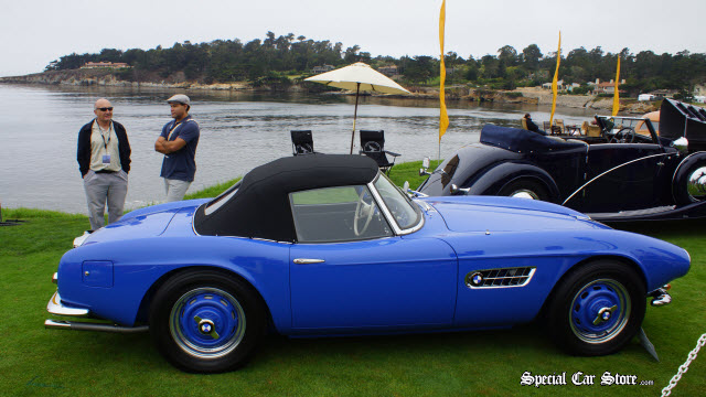 Pebble Beach Concours d'Elegance 2013: Best in class -  1958 BMW 507 Series II Roadster Pebble Beach Concours d'Elegance 2013