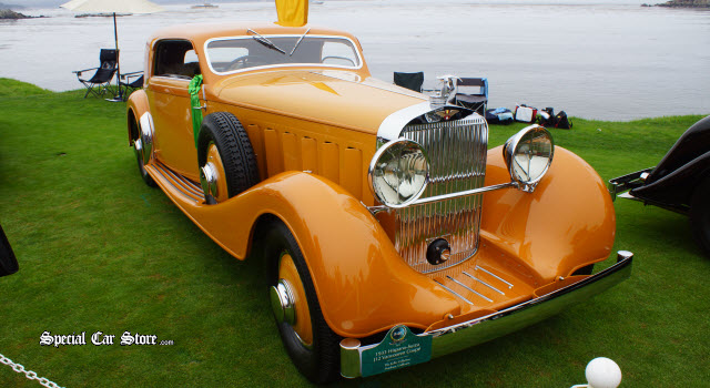 Best of Show Nominee - 1933 Hispano-Suiza J12 Vanvooren Coupe Pebble Beach Concours d'Elegance 2013