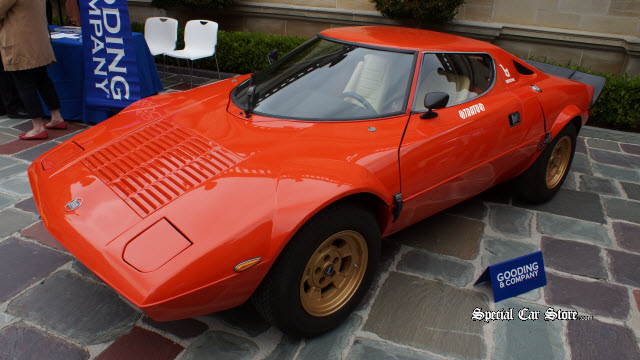 1975 Lancia Stratos HF Stradale - Offered at Gooding and Comapny
