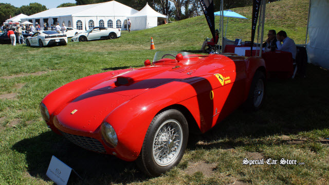 1954 Ferrari 500 Mondial Spider Series I by Pinin Farina - Offered at RM Auctions Monterey