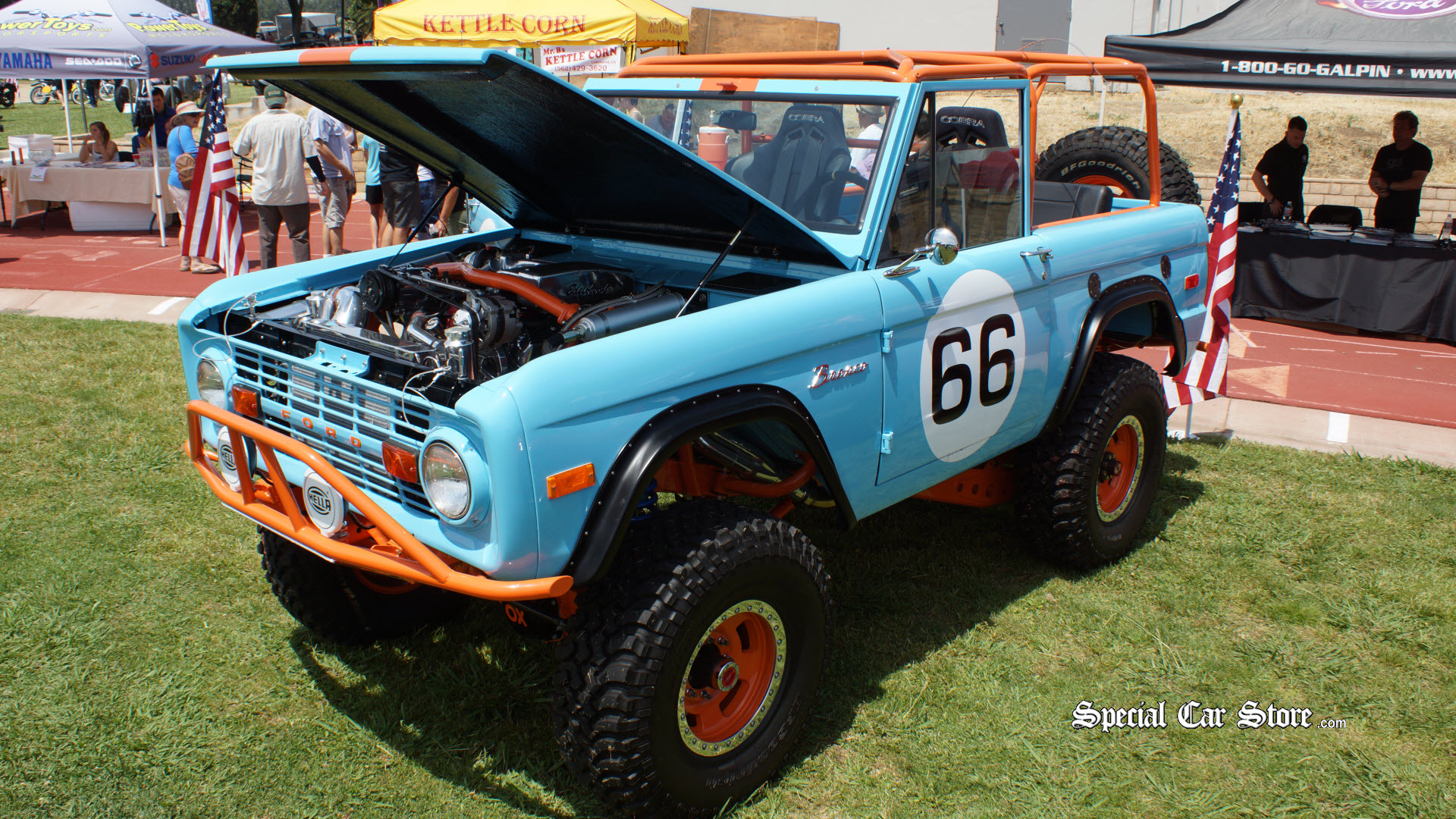 Ford Bronco Custom By Galpin Auto Sports Special Car Store - Galpin ford car show