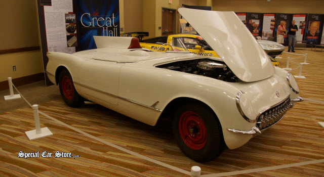 1955 Corvette No 1399 Pioneer Of Speed: The Great Hall Inductee at Bloomington Gold 2014