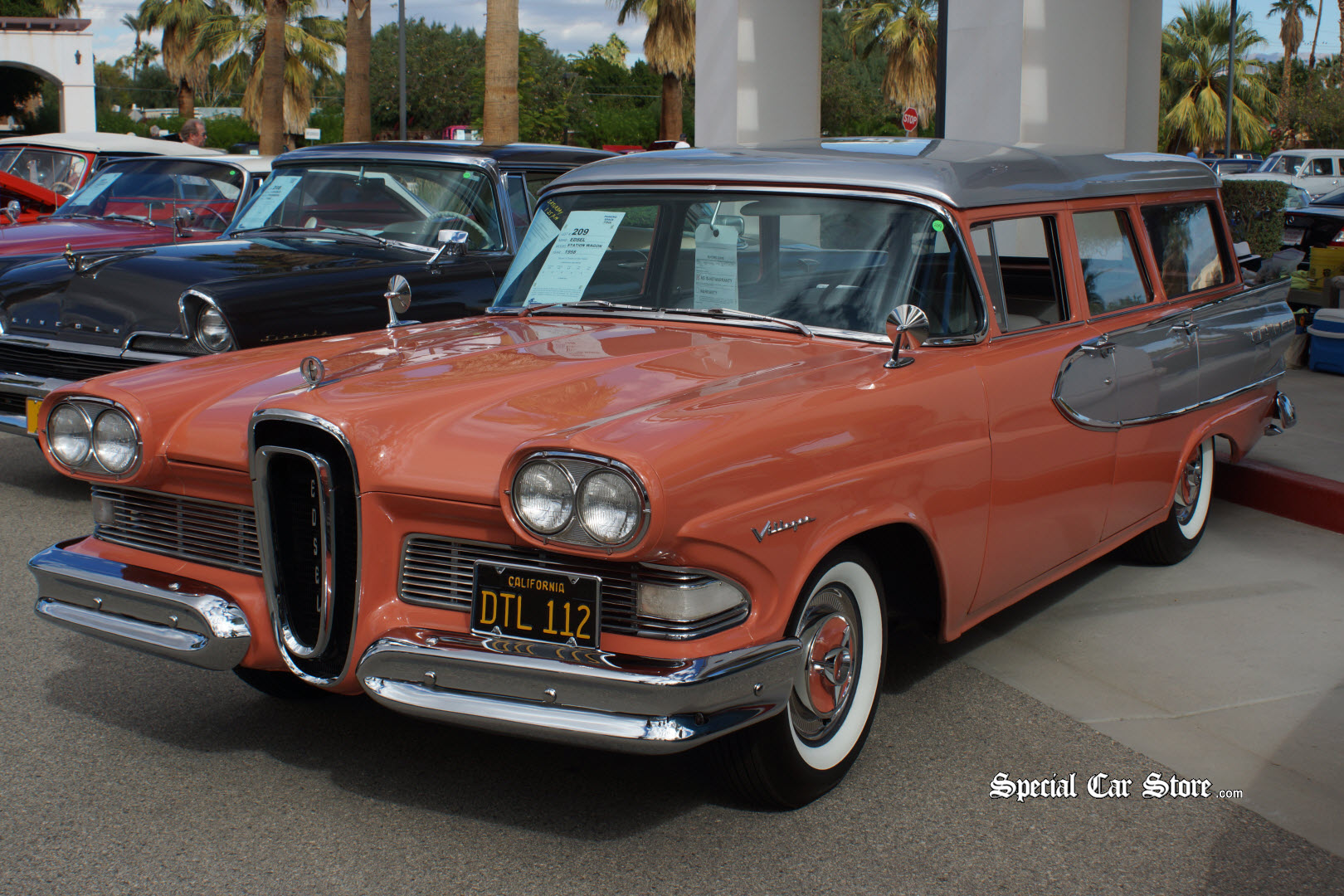 1958 ford edsel wagon for Ford palm springs motors