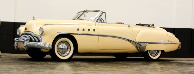 1949 Buick Roadmaster Convertible Auctions America California
