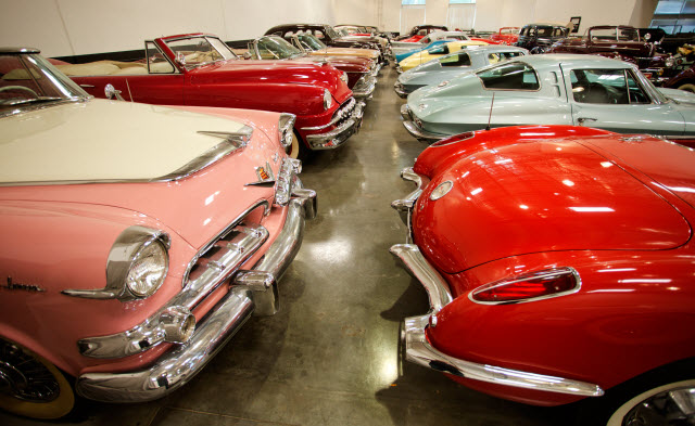 "Ex-Bob Pond Motor Cars, including a 1949 Buick Roadmaster Convertible used in the hit 1988 film, ""Rain Man"" at Auctions America California"