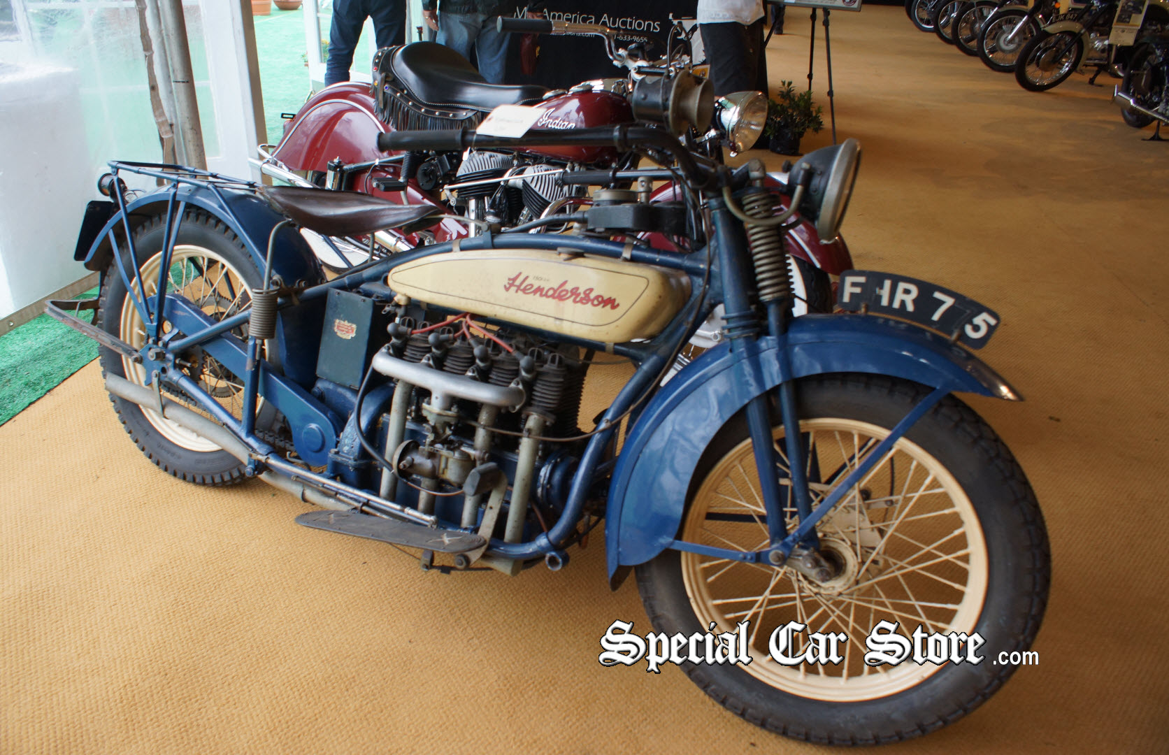 Antique Motorcycle Auction