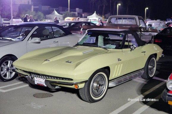 1966 Chevrolet Corvette Roadster on the eve of McCormick's Palm Springs Collector Car Auction 61