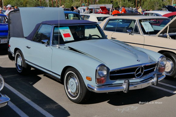 1970 Mercedes 280 SL Roadster at McCormick's Collector Car Auction 61