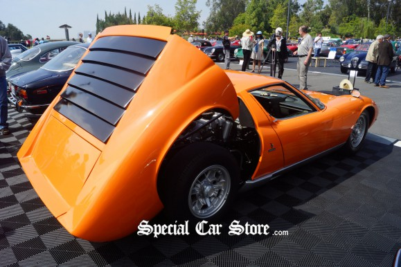 1971 Lamborghini Miura Collector Car at Greystone Mansion Concours d'Elegance 2012