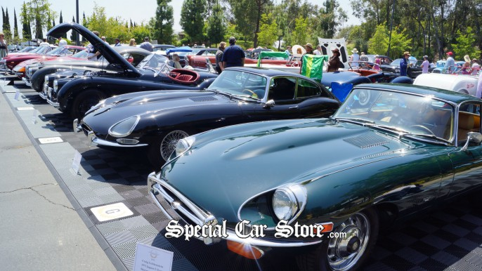 British Collector Cars at Greystone Mansion Concours d'Elegance 2012