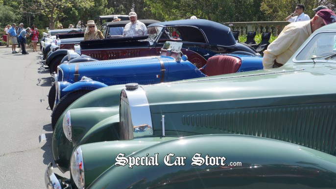 Collector cars classics - Greystone Mansion Concours d'Elegance 2012