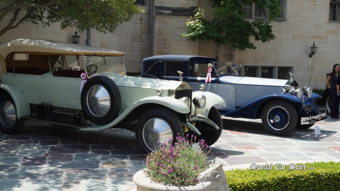 Greystone Mansion Concours d'Elegance 2012
