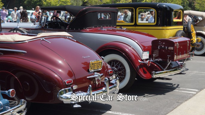 Classics and Collector Cars at Greystone Mansion Concours d'Elegance 2012