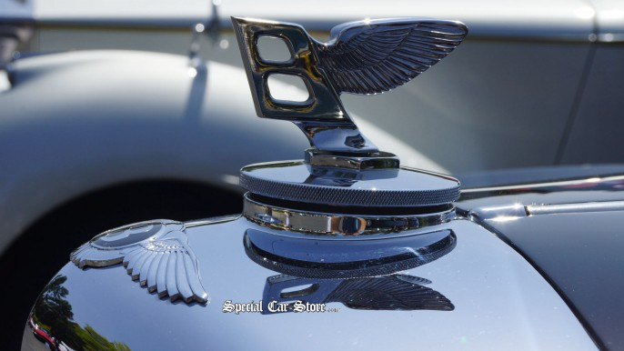 Bentley Close up emblem