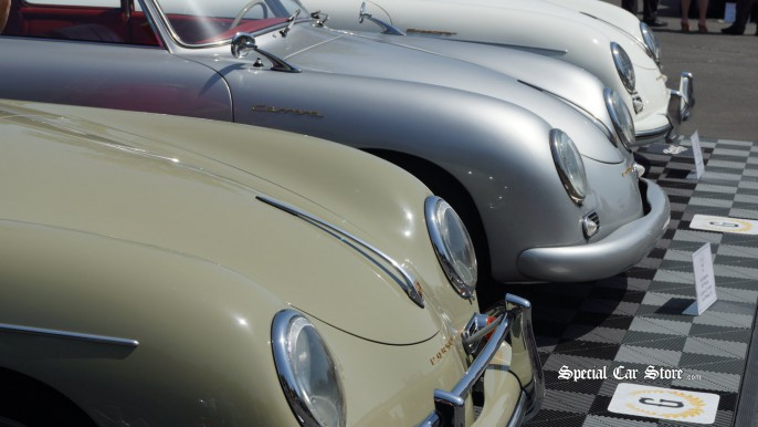 Classic Porsches - Greystone Mansion Concours d'Elegance 2012
