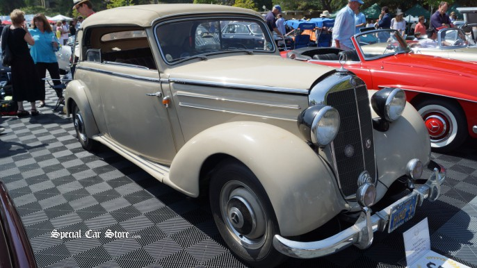1949 Mercedes Benz 170 S Cabriolet B - Greystone Mansion Concours d'Elegance 2012