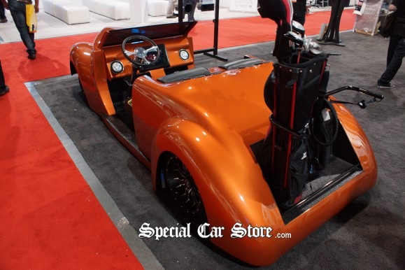 Earthquake Golf Cart Ford GT40 GoPro  CES 2013