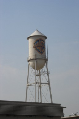 Warner Brothers VIP Tour Water Tower on the lot