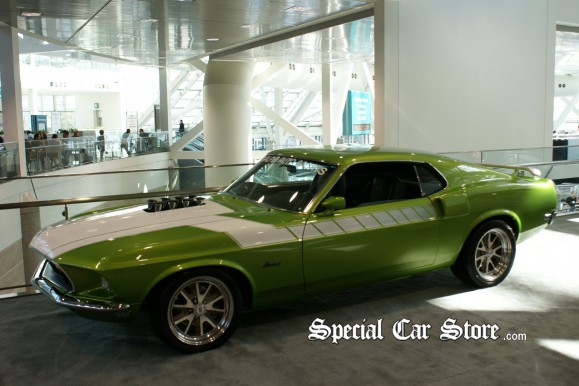 """1969 Mustang, Built """"live at SEMA"""" by Galpin Auto Sports in 24 hours - LA Auto Show 2011"""