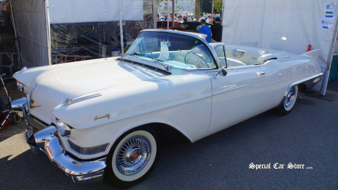 1957 Cadillac Eldorado Convertible McCormick's Palm Springs Classic Car Auction 54