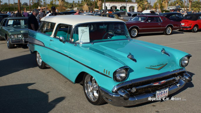 1957 Chevrolet Nomad McCormick's Palm Springs Classic Car Auction 54