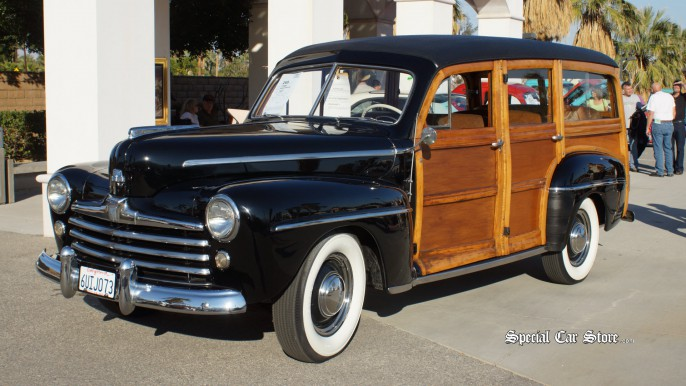 1947 Ford Woody Wagon McCormick's Palm Springs Classic Car Auction 54