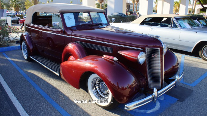 1937 Buick Phaeton McCormick's Palm Springs Classic Car Auction 54