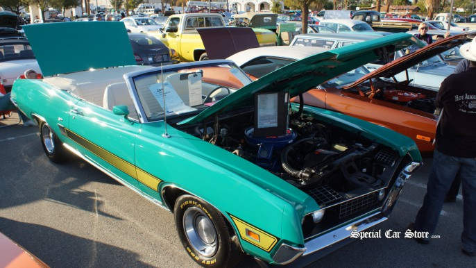 1970 Ford Torino GT Convertible McCormick's Palm Springs Auction 54