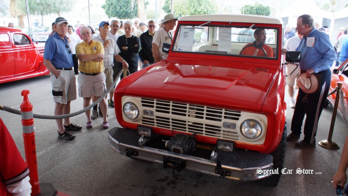 1966 Ford Bronco McCormick's Palm Springs Auction 54