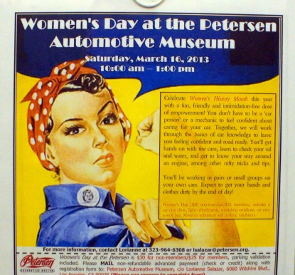 Celebrate Women's History Month this Saturday March 16 2013