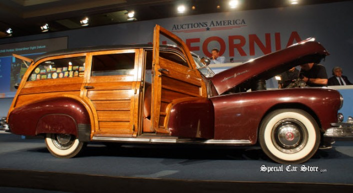 1948 Pontiac Streamliner Eight Deluxe at: Auctions America California 2013