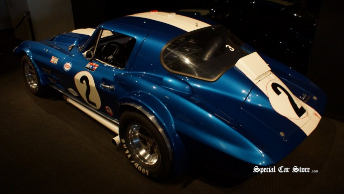 1963 Grand Sport Corvette Racer - Corvette 60th Anniversary, Petersen Automotive Museum