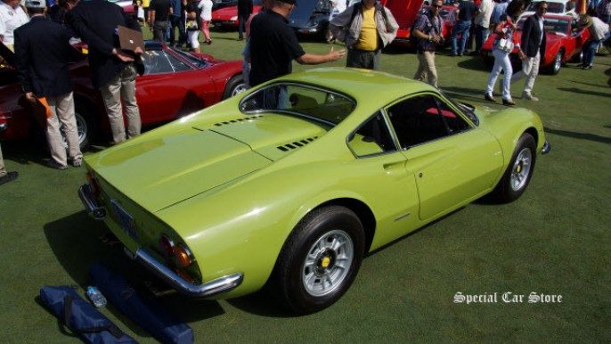 1970 Ferrari 246 GT at Concorso Italiano