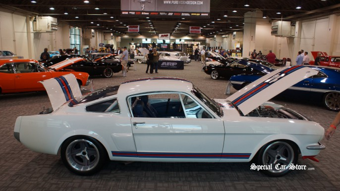 1965 Ford Mustang Rally Car, Powered by Ford DOHC Indy V8 - HOT ROD Homecoming Car Show Celebrates 65 Years