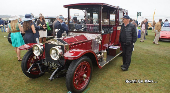 1912 Rolls-Royce Silver Ghost Limousine - Pebble Beach Concours 2013