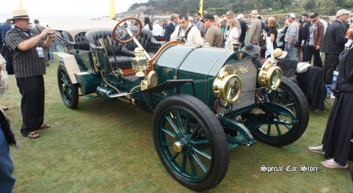 1912 Simplex 50 HP Quinby Protected Touring