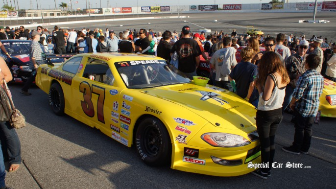 SRL S-2 Touring Series, Car 37, Ryan Cansdale  - Irwindale Speedway NASCAR