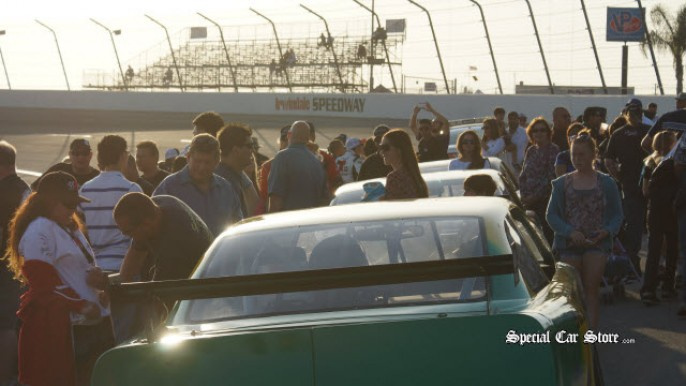 On-Track Autograph Session - Irwindale Speedway April 2013