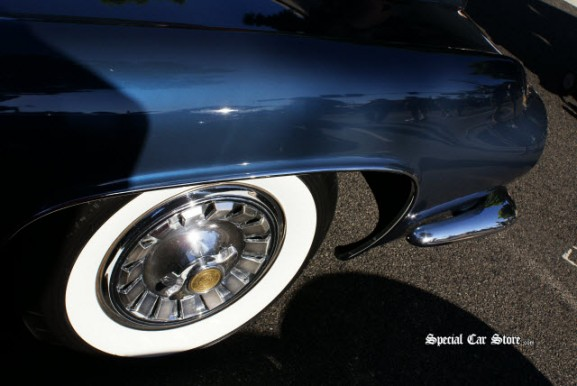 Muscle Car Whitewall Tire