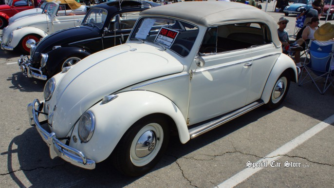 1958 VW Convertible - Flat-4 Bug-In 38 45th Anniversary