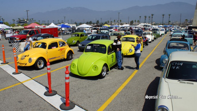 VW Drag Racers - Flat-4 Bug-In 38 45th Anniversary