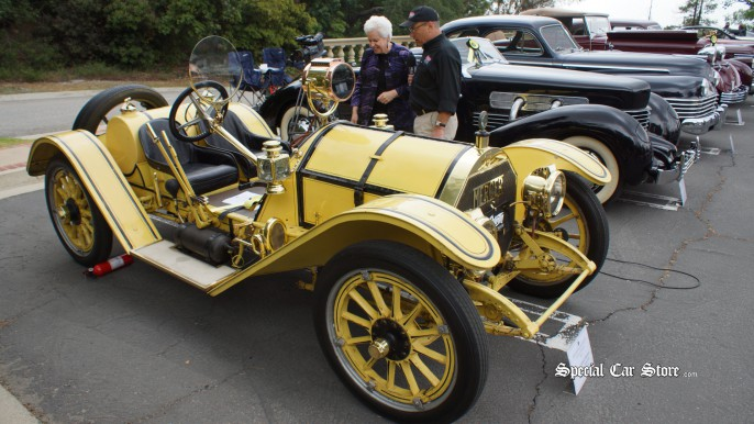 1913 Mercer Type 35-J Petersen at Greystone Mansion Concours d'Elegance