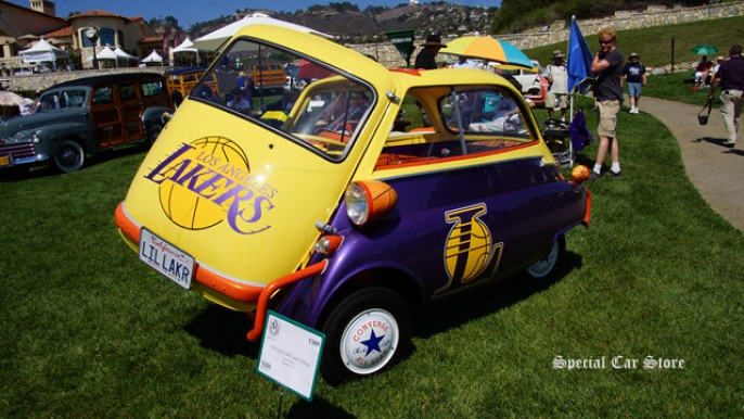 1958 Isetta 300 Laker Tribute at the 22nd Annual Palos Verdes Concours d'Elegance