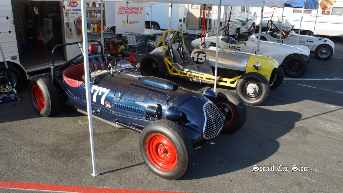 Race Cars at Sonoma Historic Motorsports Fesitival
