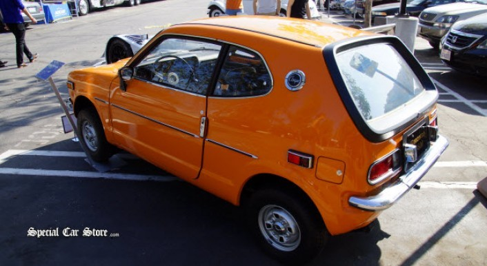 1971 Honda Z600 Coupe (First Honda coupe sold in the U.S.) at Art Center Car Classic